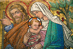 Maria mit Kind Lizenzfreie Stockfotos