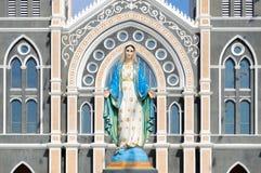Maria nella chiesa cattolica romana Fotografie Stock