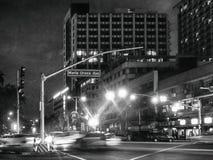 Maria Orosa aleja, jeden główne drogi w metrze Manila Philip Zdjęcie Stock