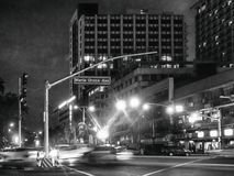 Maria Orosa Avenue, una delle strade principali in metropolitana Manila Philip Fotografia Stock