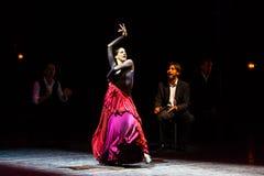 Maria Pages, ballerino spagnolo di flamenco Immagini Stock
