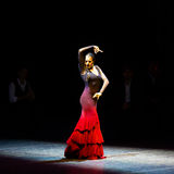 Maria Pages, danseur espagnol de flamenco Photos stock
