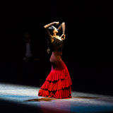 Maria Pages, danseur espagnol de flamenco Photo stock
