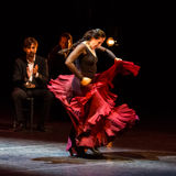 Maria Pages, danseur espagnol de flamenco Images libres de droits