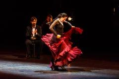 Maria Pages, Spaanse flamencodanser Stock Afbeeldingen