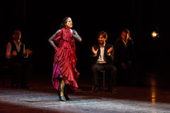 Maria Pages, spanish flamenco dancer. Royalty Free Stock Image