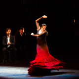 Maria Pages, spanish flamenco dancer. Royalty Free Stock Photo