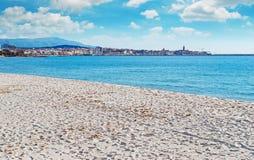 Maria pia plaża fotografia royalty free