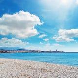 Maria pia plaża zdjęcia stock
