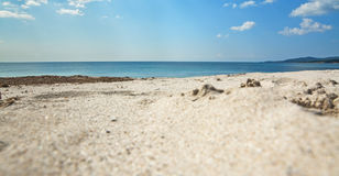 Maria pia plaża obrazy stock