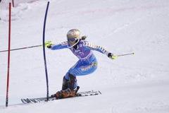 Maria Pietilae-Holmner - het alpiene ski?en Stock Foto