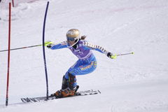 Maria Pietilae-Holmner - ski alpestre Photo stock