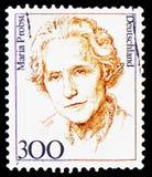 Maria Probst, polityk, kobiety w Niemieckim historii seria około 1997, (1902-1967) zdjęcia royalty free