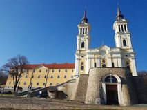Maria Radna Franciscan Monastery em Radna, Romênia Foto de Stock