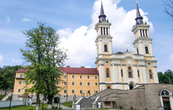 Maria Radna Franciscan Monastery - la Romania immagini stock