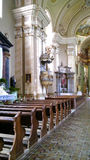 Maria Radna Franciscan Monastery - Roemenië Royalty-vrije Stock Foto's