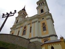 Maria Radna Franciscan Monastery - Rumänien royaltyfri bild