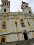Maria Radna Franciscan Monastery - Rumänien royaltyfria bilder