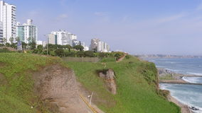 Maria Reiche park in Miraflores district of Lima Stock Photography