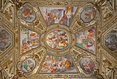 maria rome santa för basilicakapellmaggiore sida Royaltyfri Fotografi