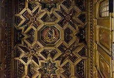 maria rome santa trastevere royaltyfria bilder