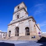 Maria Santissima della Visitazione Catedral de Enna Foto de Stock Royalty Free