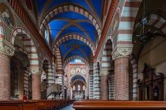 Maria santo ha ammesso la chiesa immagine stock libera da diritti