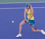 Maria Sharapova at the 2010 BNP Paribas Open. Tennis tournament at Indian Wells, California Royalty Free Stock Photo
