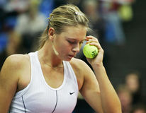 Maria Sharapova. Russian tennis player stock photography