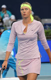 Maria Sharapova at the China Open 2009 Royalty Free Stock Photography