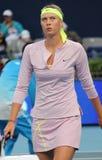 Maria Sharapova at the China Open 2009 royalty free stock photography