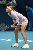 Maria Sharapova in China opent 2009 stock fotografie