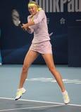 Maria Sharapova in China opent 2009 stock foto