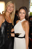 Maria Sharapova, Camilla Belle Royalty-vrije Stock Foto
