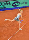 Maria Sharapova no Madri aberto de WTA Mutua Imagem de Stock Royalty Free