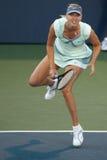 Maria Sharapova plays at the WTA Tour Stock Photos