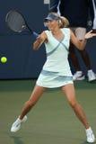 Maria Sharapova plays at the WTA Tour Royalty Free Stock Photography
