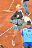 Maria Sharapova at the WTA Mutua Open Madrid Royalty Free Stock Image