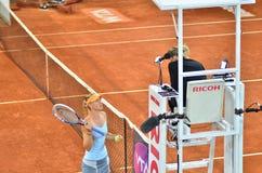 Maria Sharapova at the WTA Mutua Open Madrid Stock Photos