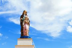 Maria Statue Royalty Free Stock Photos