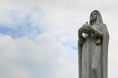 Maria statue Royalty Free Stock Image