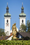 Maria Statue Tutzing Royalty Free Stock Image