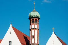 Maria Stern Convent in Augsburg Lizenzfreie Stockfotografie