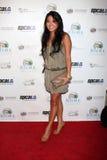 Maria T. Ho obtenant à l'événement de Royale de casino de célébrité Images libres de droits