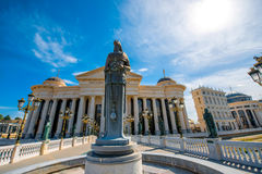 Maria Teresa monument Stock Photography
