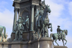Maria Teresa Monument Royalty Free Stock Photos