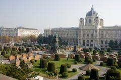 Maria Teresie Platz _ Vienna Royalty Free Stock Image
