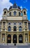 Maria Theresaâ €™s minnesmärke och naturhistoriamuseum i Wien Arkivfoton