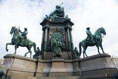 Maria-Theresa Denkmal stockbild