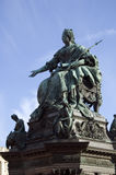Maria Theresa Monument stock image